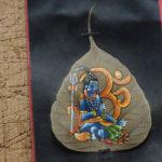 Bodhi Tree (Ficus religiosa) potted plant, organic