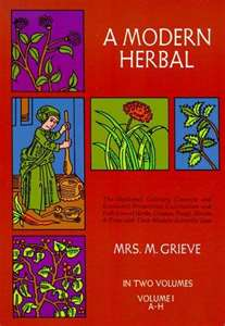 A Modern Herbal by Maude Grieve--2 Volume Set